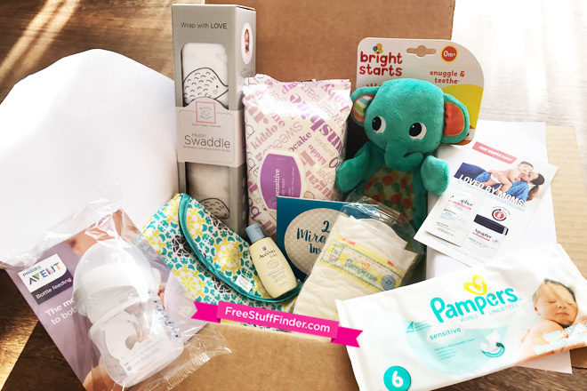 FREE Amazon Baby Welcome Box + FREE Shipping (Prime Members – $35 Value!)