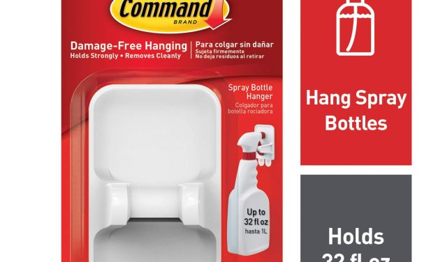 *HOT* Command Spray Bottle Hanger $2.99 (40% Off!)
