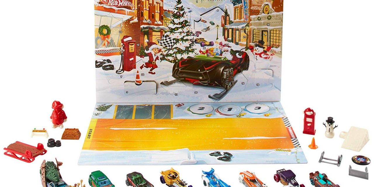 Hot Wheels Advent Calendar $17.99 (Lowest Price To Date!)