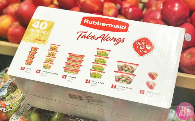 FREE Rubbermaid Containers + FREE Pickup & $1.52 Moneymaker (New TCB Members)