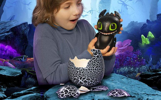Toothless Interactive Hatching Dragon for FREE Shipping – Lowest Price!